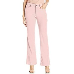NYDJ Wylie Pink Linen Trouser Sz. 4 NWT